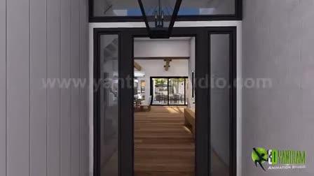 Virtual Tour Walkthrough of Interior & Exterior by 3D Architectural Animation, Florida - USA