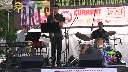 Kenny Phelps performs at the 19th Carmel International Arts Festival #1 (2016)