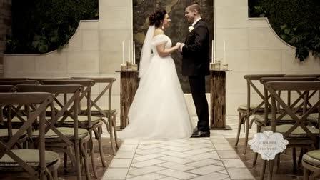 Destination: True Love | Romantic Wedding | Chapel of the Flowers