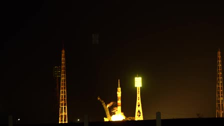 Rocket launch from Baikonur