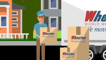 Wheaton Worldwide Moving Explainer Animation