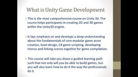 Unity Game Development Courses in Jaipur, Ahmadabad, Gurugram, Ajmer