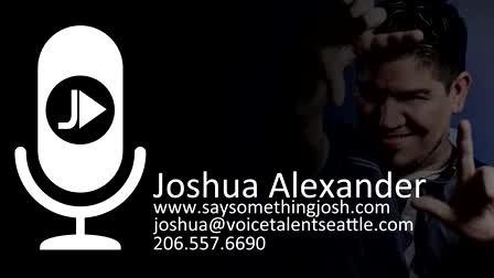 Joshua Alexander Main Demo Reel