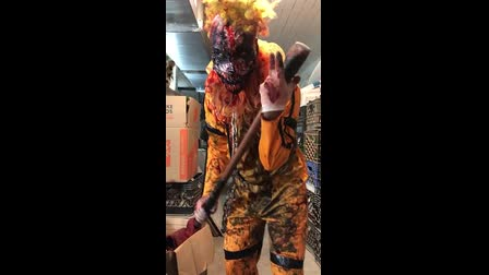 Blood Manor  Killer Clown Makeup