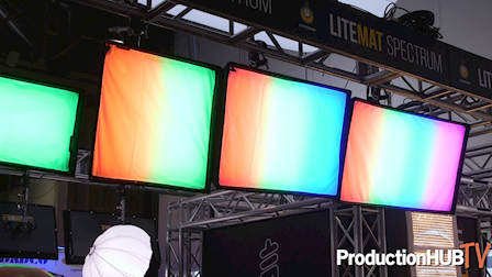 LiteGear Showcases LiteMat Spectrum LED Fixture at NAB 2019