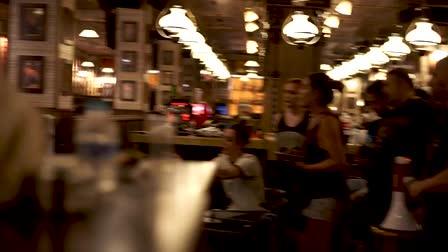 """Behind the scenes. Sequence in """"Le Grand Cafe"""". Spanish Film: """"El Berrido de los silencios"""""""