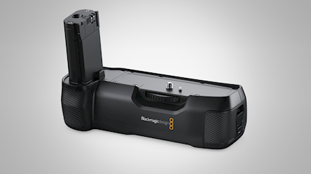 Blackmagic Design Announces New Pocket Cinema Camera Battery Grip at NAB 2019