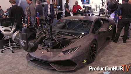 David Wells of Moving Picture Talks About the Huracam Lamborghini Camera Car at NAB 2019