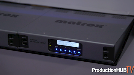 Matrox Launches the Monarch EDGE 4K/Multi-HD Webcasting and Remote Production Encoder at NAB 2019