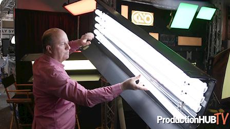 David Wells Talks About the KinoFlo FreeStyle LED Tubes at NAB 2019