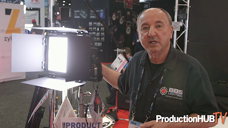 BB&S Lighting Offers Color Breakthrough With New Area 48 Color at NAB 2019