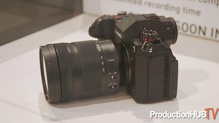 Panasonic Previews LUMIX S1H Full Frame 6K Mirrorless Camera at Cine Gear LA 2019