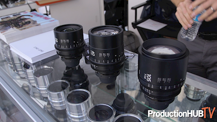 Sigma Showcases New FF High Speed Prime Lens Focal Lengths at Cine Gear LA 2019