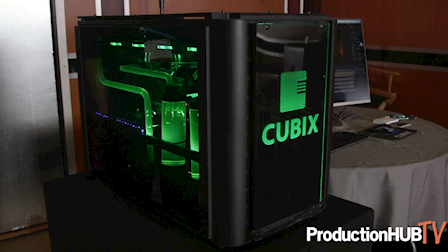 Cubix Showcases WorXtation 4K Workflow at Cine Gear LA 2019