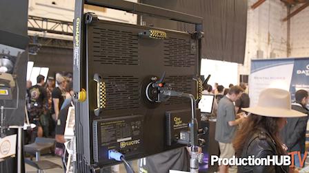 Fluotec Introduces CineLight 120 Quad LED Light Panel at Cine Gear LA 2019