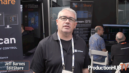 EditShare Talks Flow Production MAM & QScan Automated QC at Cine Gear LA 2019