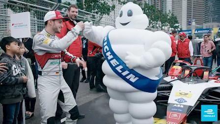 The Michelin Man - Tribute To A Legend | ABB FIA Formula E Championship