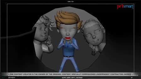 CGI Animation company in India - Prismart Showreel