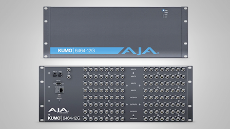 AJA Video Systems Brings 12G Connectivity to IBC 2019