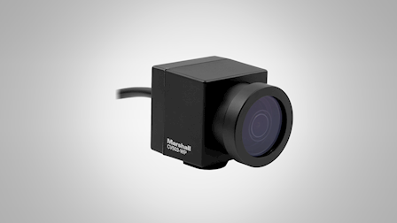 Marshall Electronics Debuts New Miniature CV503-WP All Weather Camera at IBC 2019