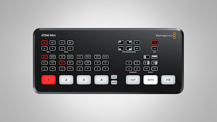 Blackmagic Design Showcases New ATEM Mini Live Production Switcher at IBC 2019