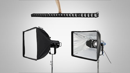 DoPchoice Showcases Universal SNAPBAG for LED Fresnels & Hardlights at IBC 2019