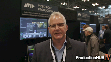 Avid Debuts Reimagined Production and Post Workflow Solutions at NAB NY 2019