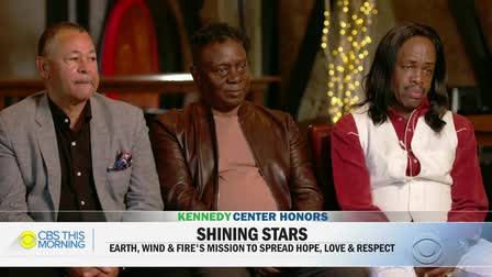 CBS This Morning Earth Wind & Fire