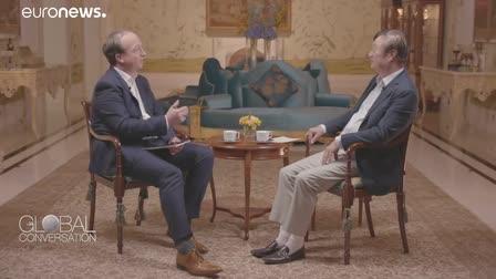 Global Conversation with Huawei's founder Zhengfei Ren