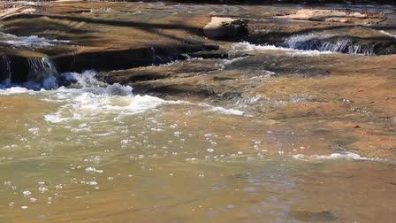 The Little Waterfalls in Flat Rock Park