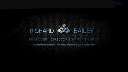 Richard Bailey Demo Reel 2020