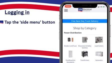 Phone app tutorial video