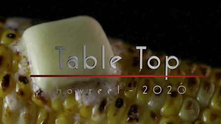 Tabletop Showreel 2020