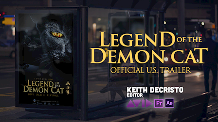 EDITOR - Legend of the Demon Cat: North American Trailer(Official)
