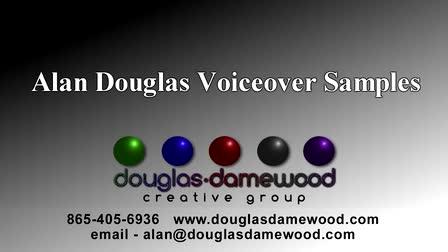 Alan Douglas Voiceover reel