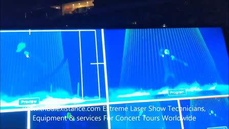 Concert Tour Stage Laser Shows Worldwide