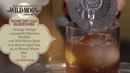 Hartford Flavors Wild Moon Liqueurs - Rose Gin