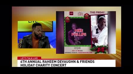 Styled Grammy Nominated Singer Raheem DeVaughn Press Tour