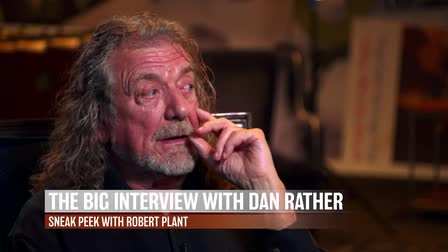 AXS TV's The Big Interview with Robert Plant and Dan Rather  |  NYC