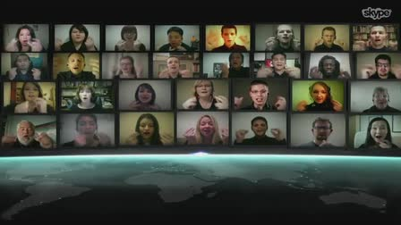 TED Talks / Skype Virtual Choir / 32 Simultaneous Global Remote Locations in Full HD!