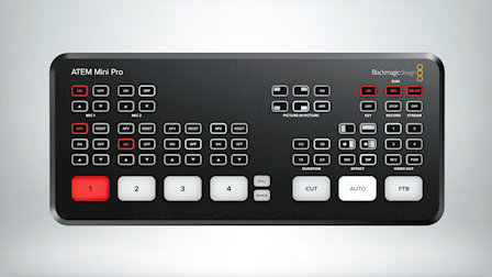 Blackmagic Design's Showcases New ATEM Mini Pro and HyperDeck Studio Mini