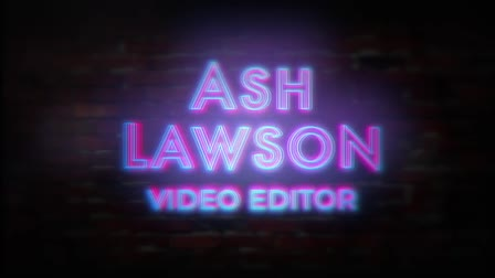 Ash Lawson - 2020 Showreel