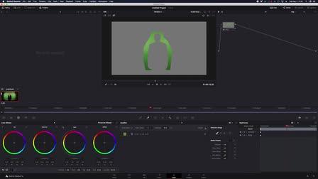 Super Fast Green Screen in Davinci Resolve