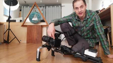 6k Cinema Camera Demonstration [Shoulder-Rig]