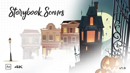 Storybook Scenes / Popup Book Kit