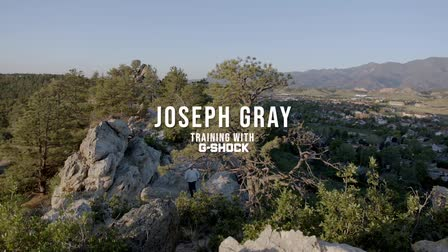 Joseph Gray: Training With G-Shock