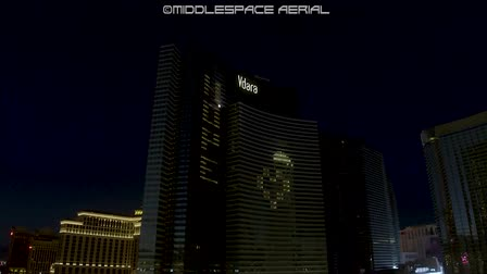 Las Vegas Night Aerials