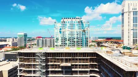 Universal Forming Building Progress -  Downtown Orlando