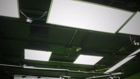 Ceiling Grid - Green Slate Studios