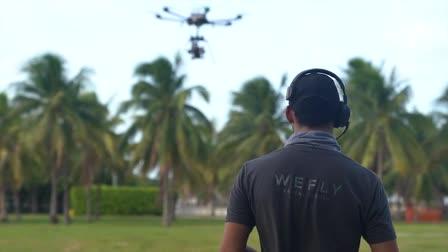 We Fly Aerial Media - Heavy Lift Drone